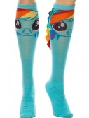 Rainbow Dash With Ribbon Mane Knee High Socks buy now