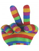 Rainbow Peace Sign Hat buy now