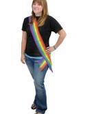 Rainbow Satin Sash buy now