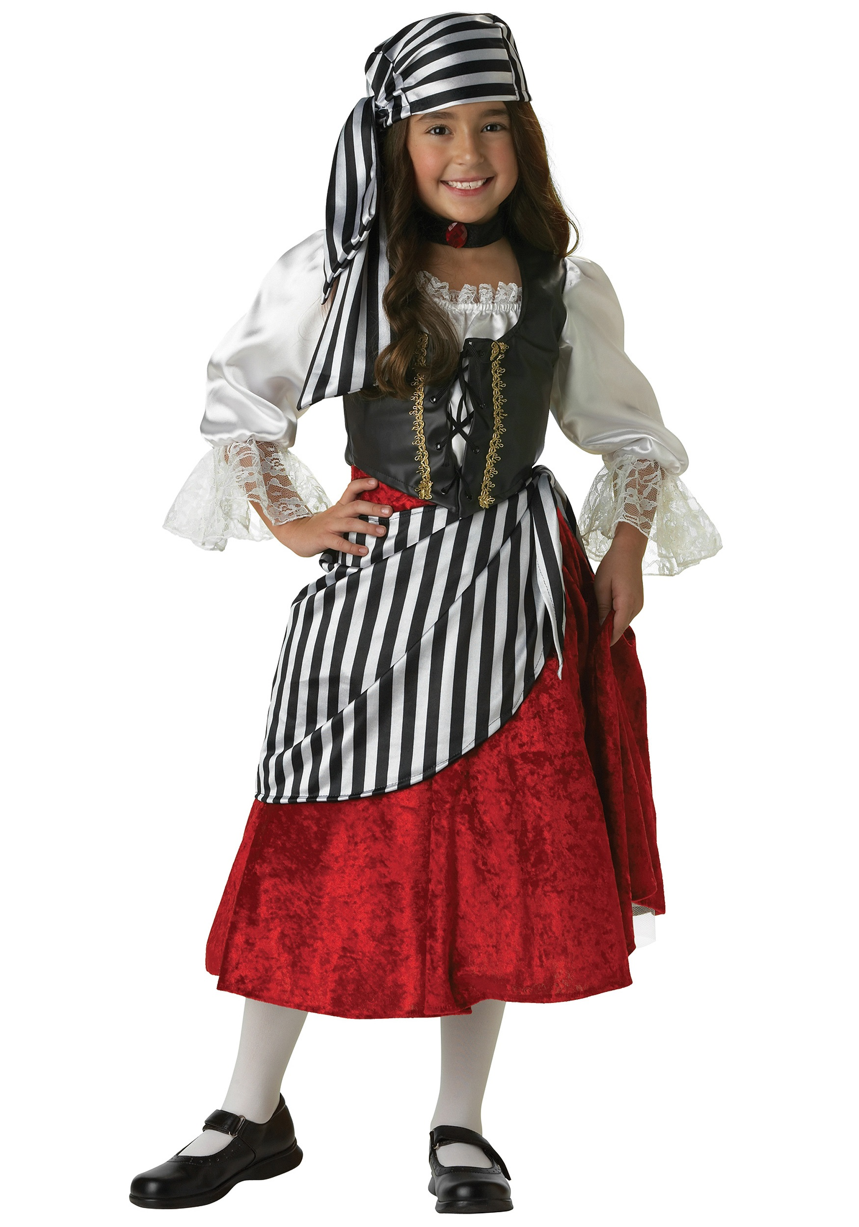 rebel pirate girl costume