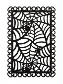 Rectangular Black Spider Web Placemat buy now