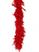 Red 80 Gram Feather Boa buy now