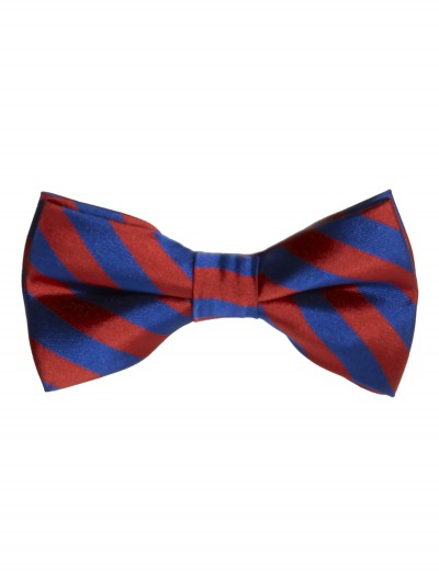 Red/Blue Striped Bow Tie buy now