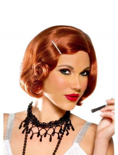 Red Curls Cutie with Pin Wig buy now