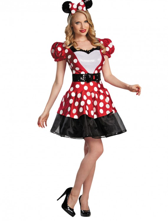 Red Glam Minnie Mouse Costume buy now