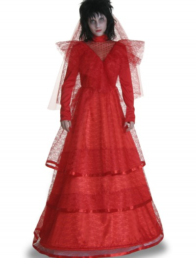 Red Gothic Wedding Dress Costume buy now