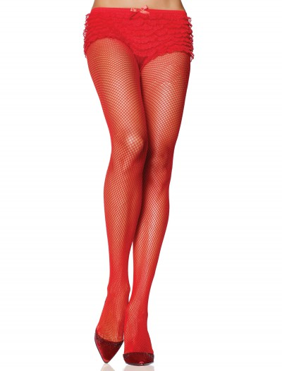 Red Nylon Fishnet Pantyhose buy now