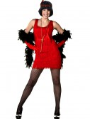 Red Plus Size Flapper Dress buy now
