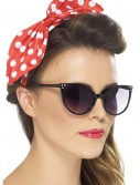 Red Polka Dot Pin-Up Bow on Headband buy now