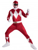 Red Ranger Super Deluxe Adult Costume buy now