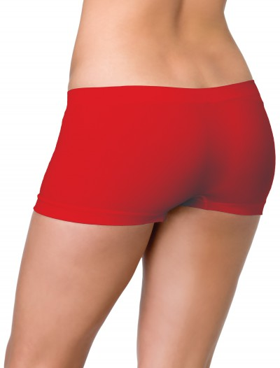 Red Seamless Boyshorts buy now