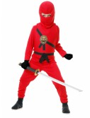 Red Toddler Ninja Costume buy now