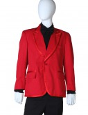 Red Tuxedo Coat buy now