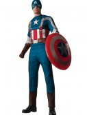 Retro Captain America Adult Muscle Chest Costume buy now