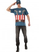 Retro Captain America T-Shirt and Mask buy now