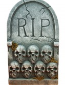 RIP Tombstone with Skulls buy now