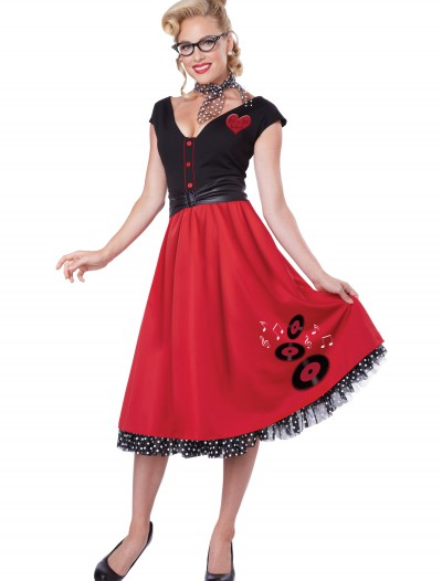 Women's Rock N Roll Sweetheart Costume buy now