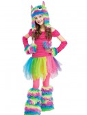 Rockin' Rainbow Monster Child Costume buy now