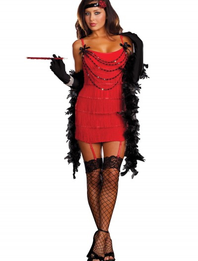 Ruby Red Hot Flapper Costume buy now