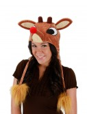 Rudolph Light Up Hoodie Hat buy now
