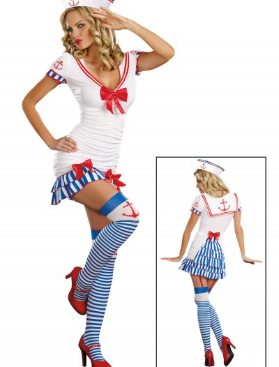 Sailor Pin Up Costume buy now
