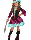Salty Taffy Girls Pirate Costume buy now