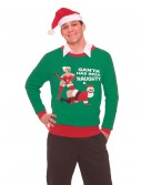 Santa Has Been Naughty Christmas Sweater buy now