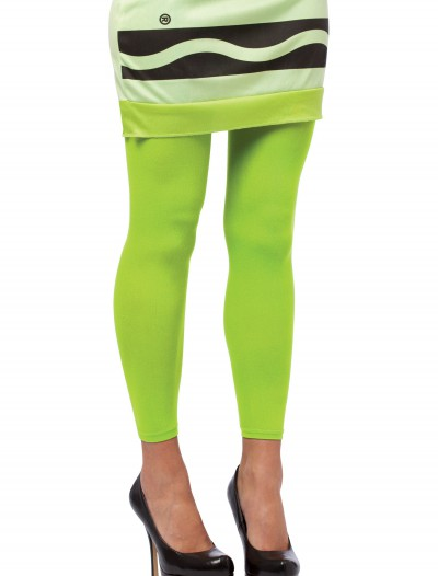 Screamin' Green Crayon Footless Tights buy now