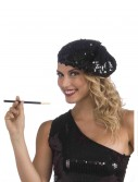 Sequin Flapper Beret buy now