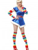 Sexy 80s Rainbow Vixen Costume buy now