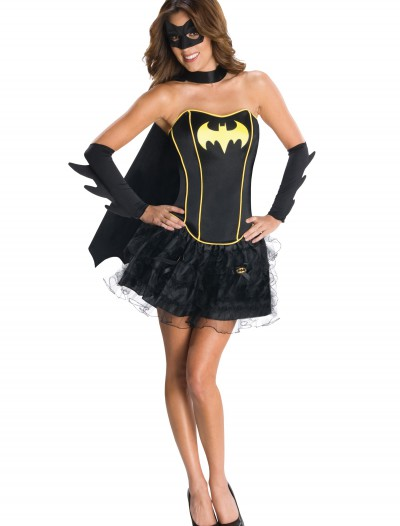 Sexy Batgirl Corset Costume buy now