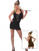 Sexy Black Lindy Lace Flapper Costume buy now