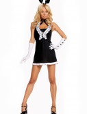 Sexy Black Tie Bunny Costume buy now