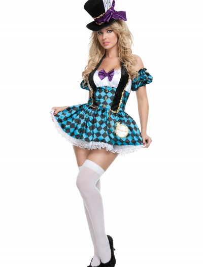 Sexy Checkered Mad Hatter Costume buy now