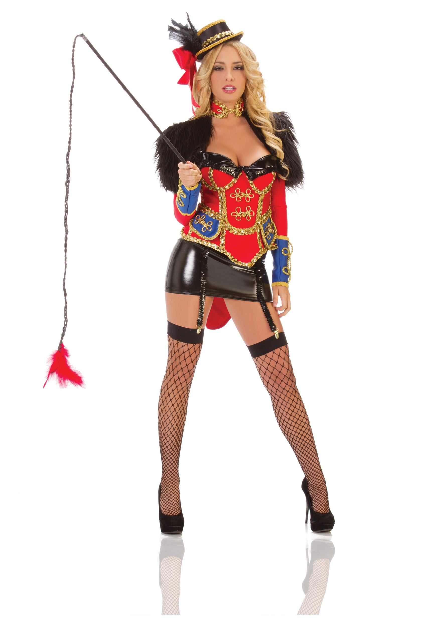 Charming Sexy Circus Ring Leader Costume Buy Now