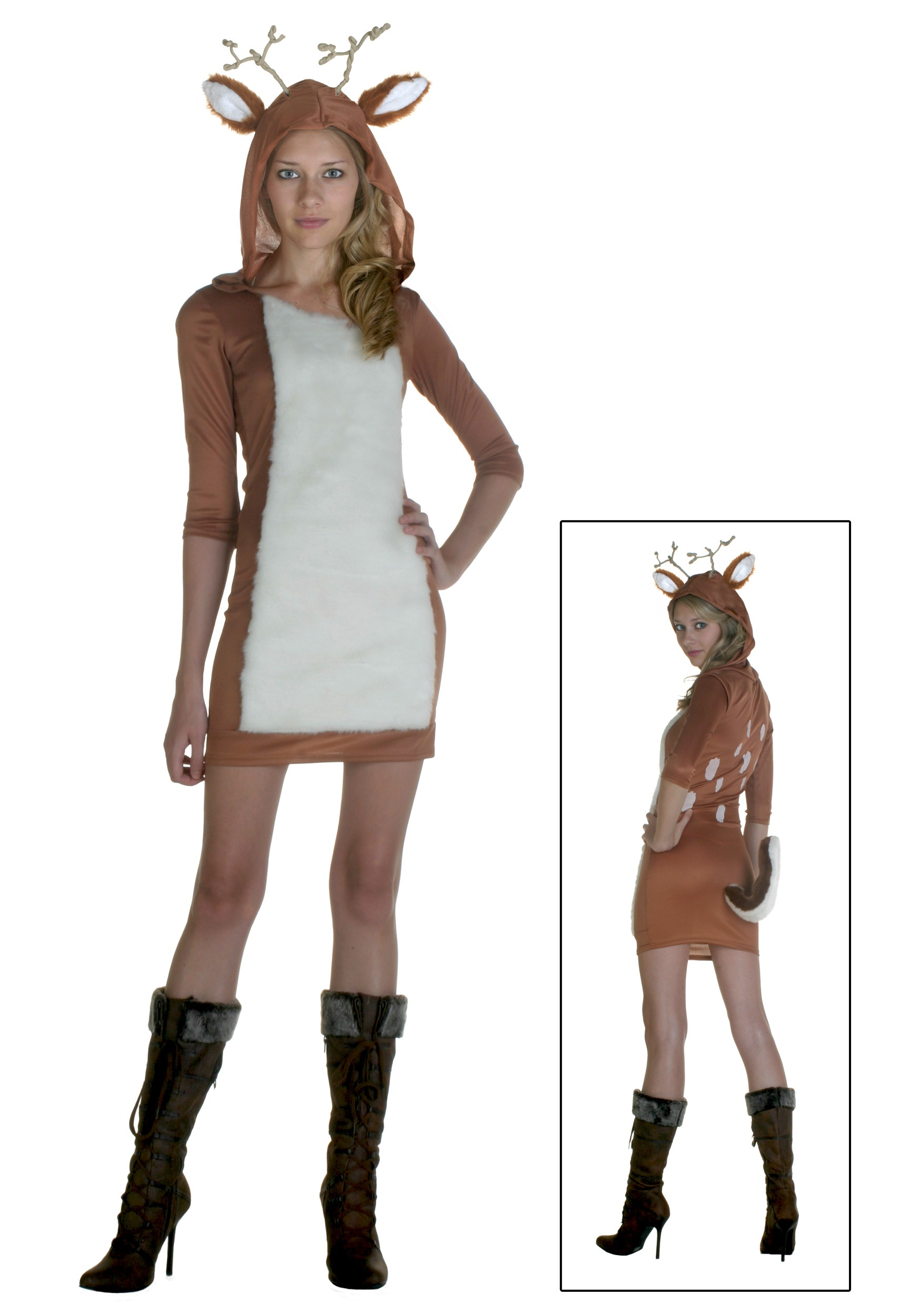 Sexy Deer Costume  sc 1 st  Halloween Costumes : deer costume diy  - Germanpascual.Com