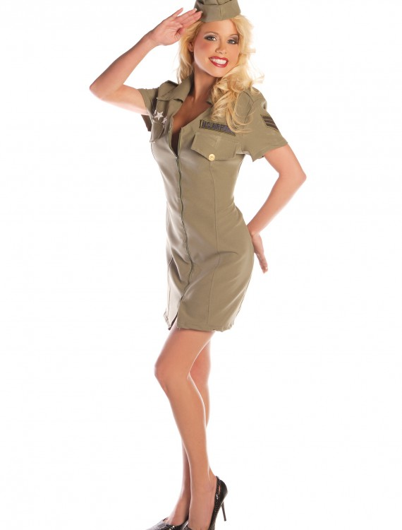 Sexy Fly Girl Military Costume buy now