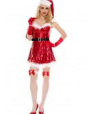 Sexy Miss Sequin Santa Costume buy now