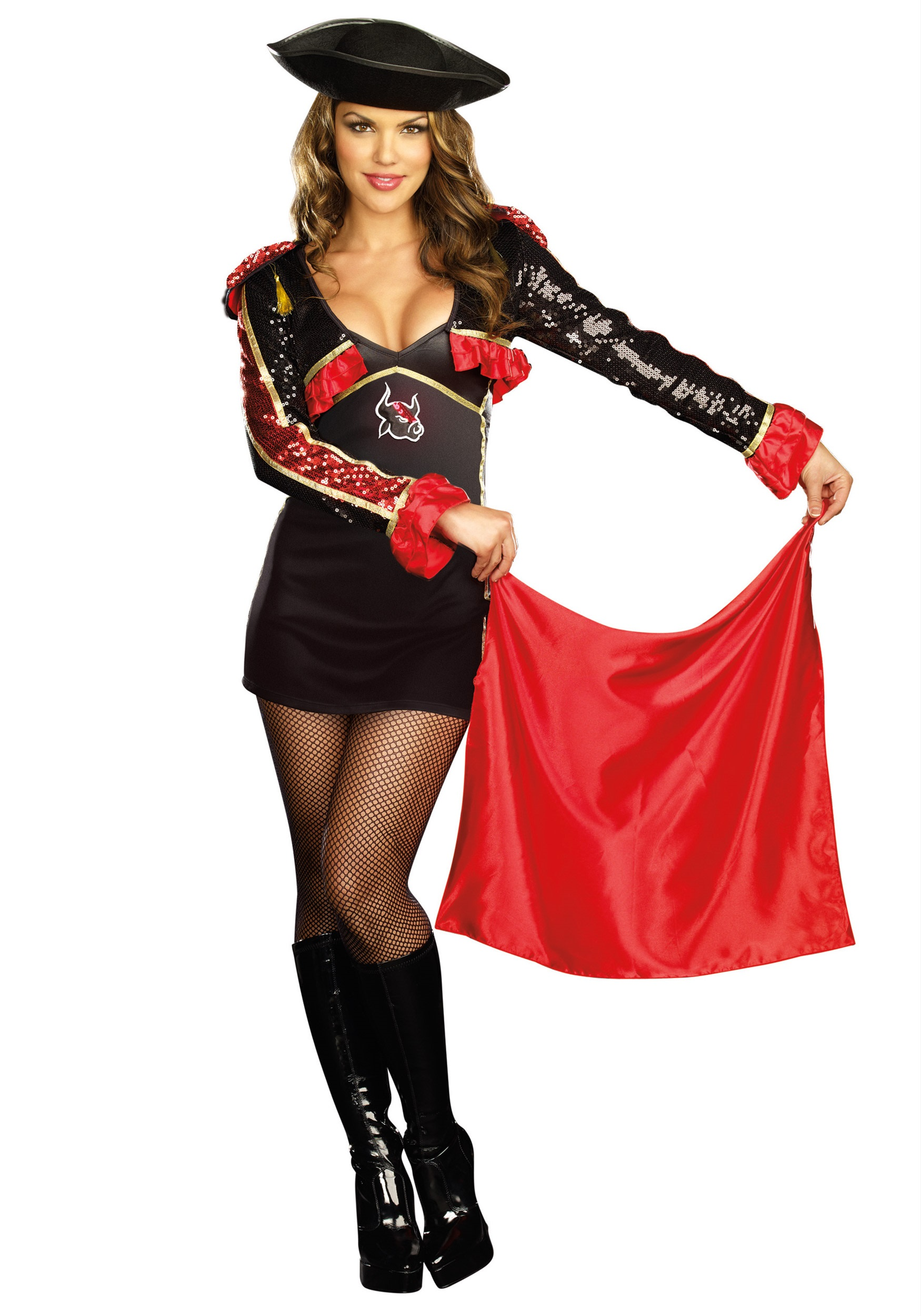 Sexy No Bull Matador Costume  sc 1 st  Halloween Costumes : spanish girl costume ideas  - Germanpascual.Com