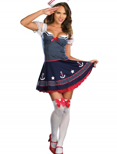 Sexy Polka Dot Sailor Costume buy now