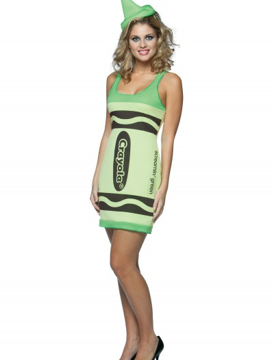 Sexy Screamin' Green Crayon Dress buy now