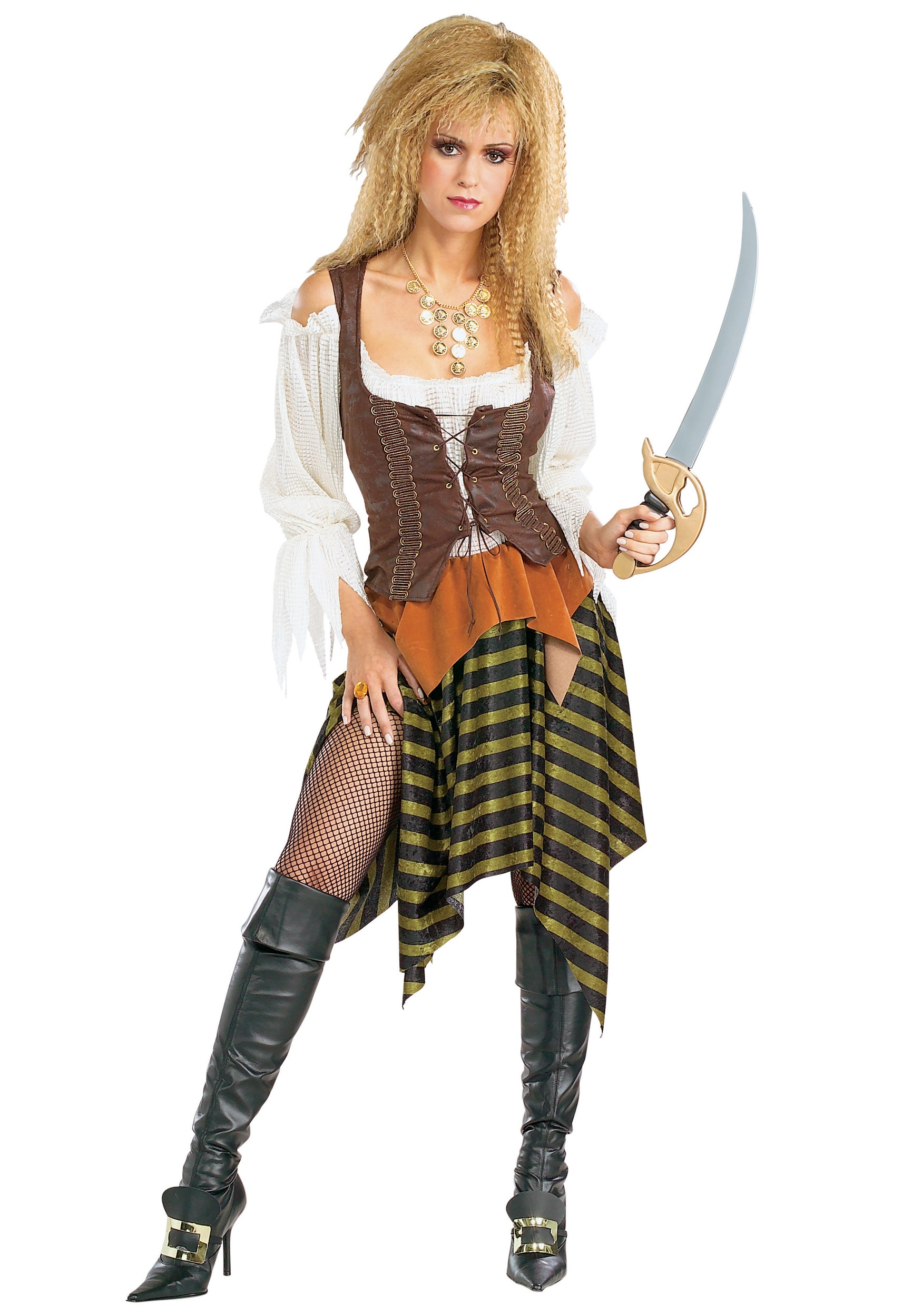 Sexy Sea Wench Pirate Costume  sc 1 st  Halloween Costumes & Sexy Sea Wench Pirate Costume - Halloween Costumes