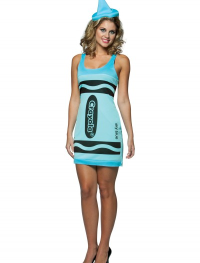 Sexy Sky Blue Crayon Dress buy now