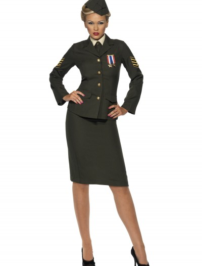 Sexy Wartime Officer Costume buy now
