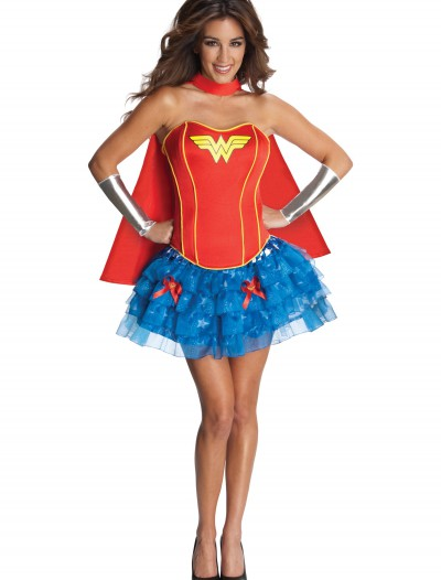 Sexy Wonder Woman Corset Costume buy now