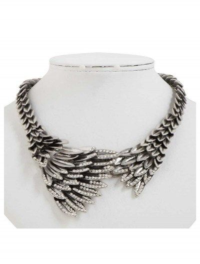 Silver Eagles Wing Necklace buy now