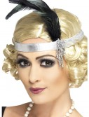 Silver Flapper Headband buy now