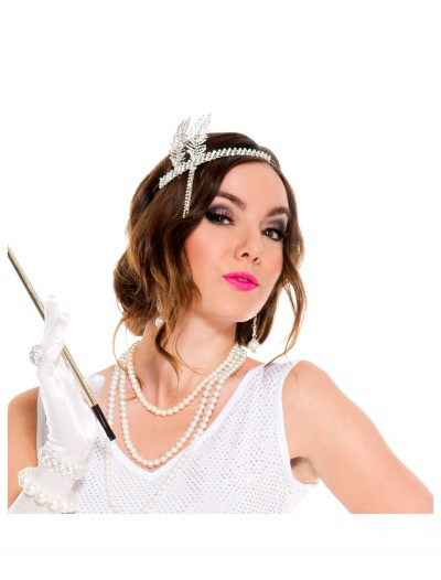 Silver Flapper Headpiece buy now