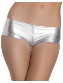 Silver Lycra Boy Shorts buy now