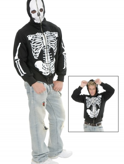 Skeleton Hooded Sweatshirt buy now